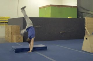 How to Do a Running Diving Roundoff