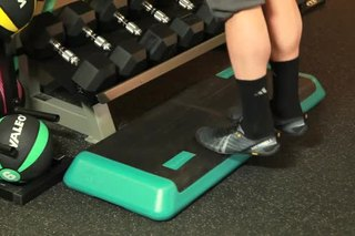 How to Use a Block Step for a Calf Raise