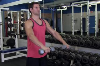 Front Pronated Lateral Raises
