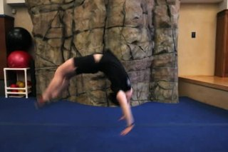 How to Do a Back Handspring Without Being Scared