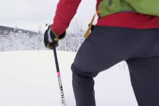 What Is the Proper Pole Height for Snowshoeing?