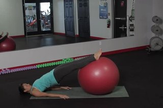 Low Back Exercises With a Yoga Ball