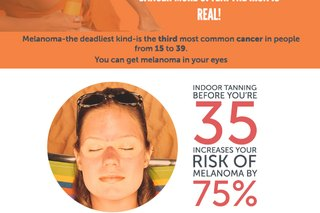 The Truth About Tanning (Infographic)