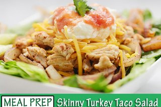 #Mealprepmonday Recipe: Skinny Turkey Taco Salad