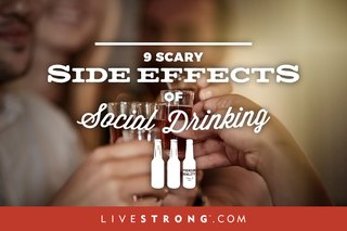 9 Scary Side Effects of Social Drinking