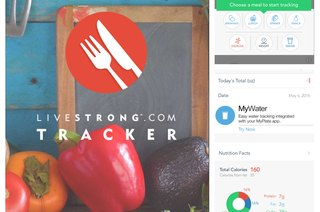 How to Use LIVESTRONG.COM's Free Calorie Tracker App for iPhone and iPad
