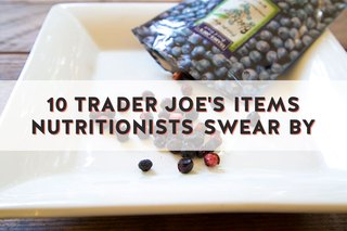 10 Trader Joe's Items Nutritionists Swear By