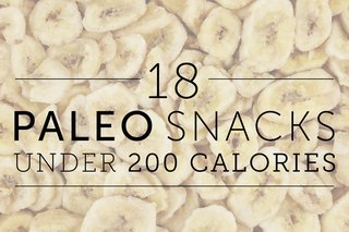 18 Paleo Snacks Under 200 Calories