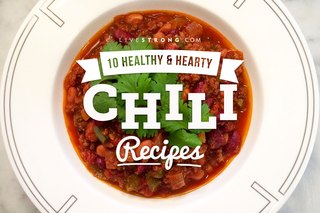 10 Healthy and Hearty Chili Recipes