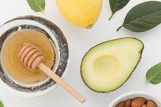 How to Make Avocado Honey Cups