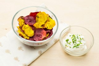 These Beet Chips Are 100 Calories and So Easy to Make