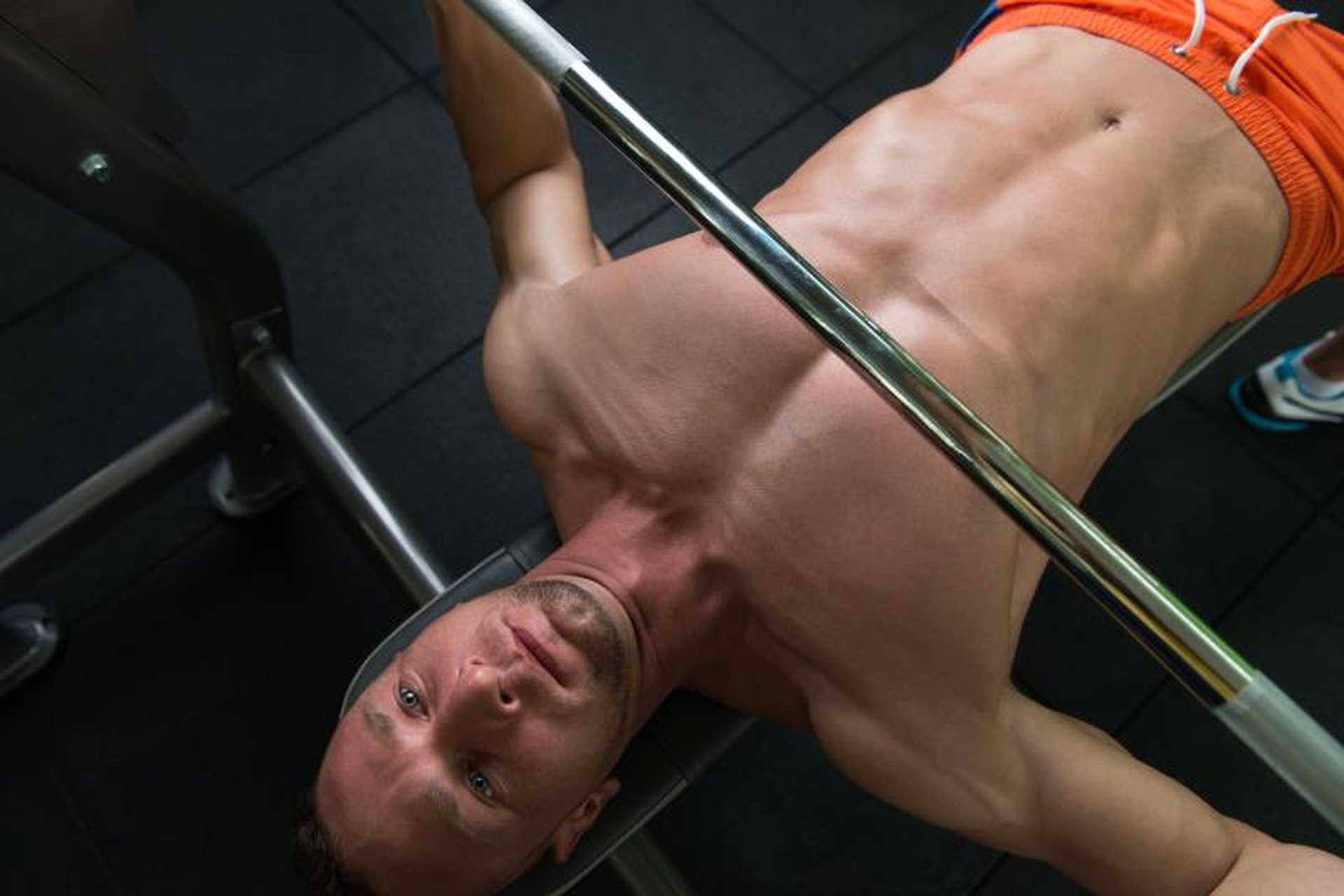 Major Muscle Groups Used in Bench Press   LIVESTRONG.COM