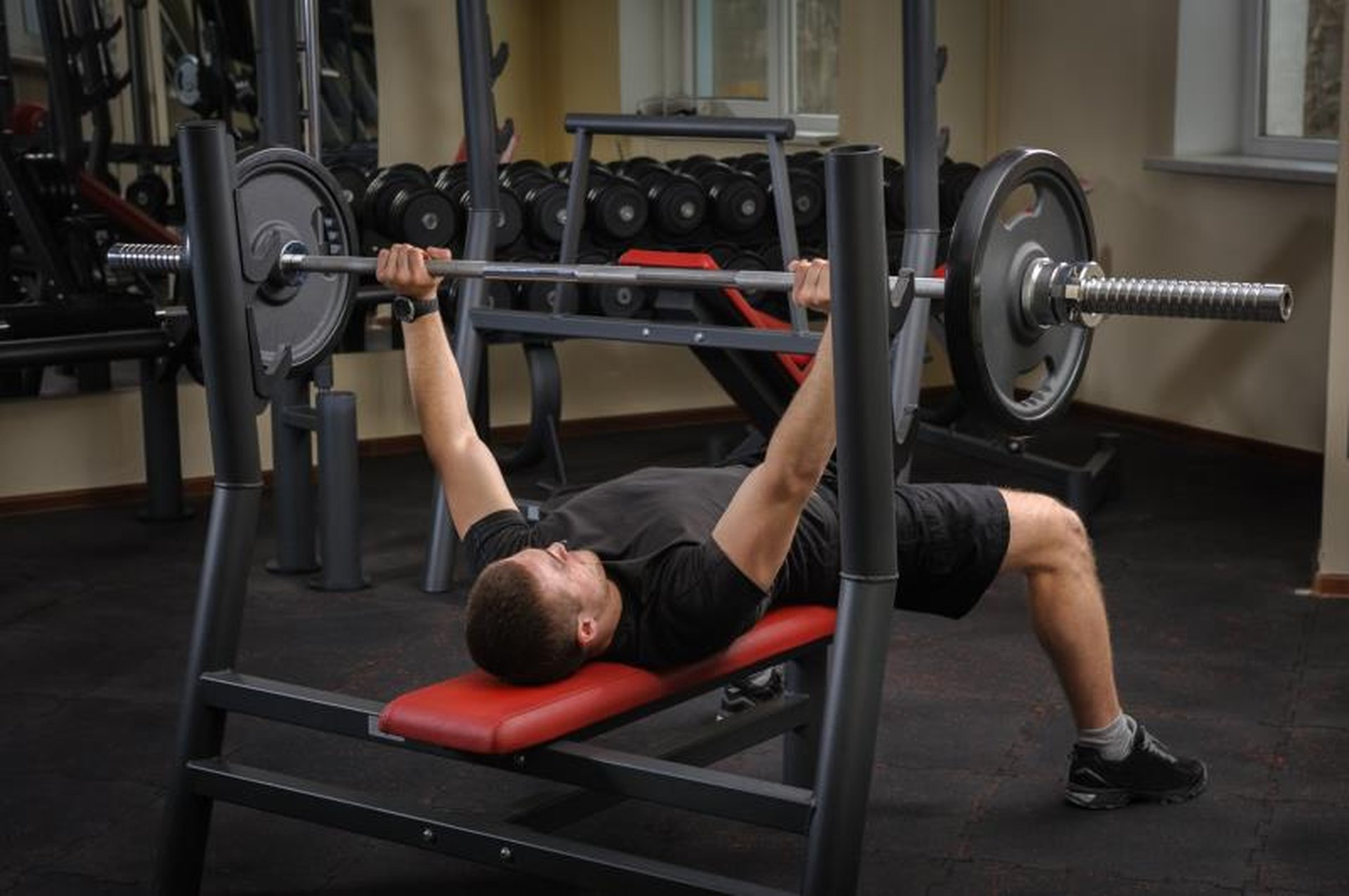 canada utility bench rogue weight flat standard