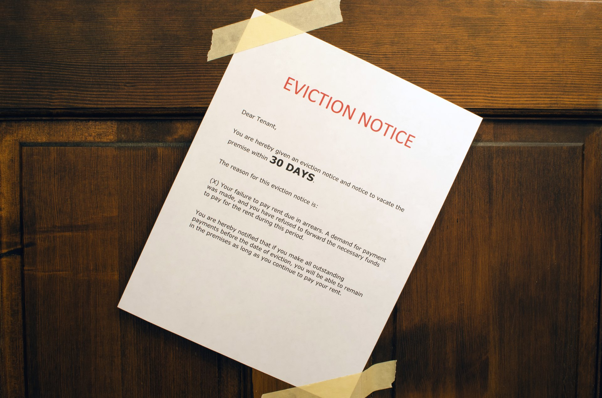 how to evict a family member from a house | livestrong