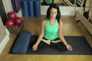 how to cross your legs in yoga  livestrong