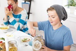 meal plans for teenage boys  livestrong