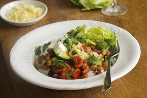 Vegetarian Chili Nutrition Information
