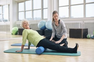Using a Foam Roller for Back Pain Relief
