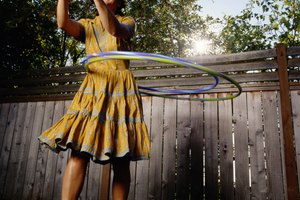 Health Benefits of Hula Hooping