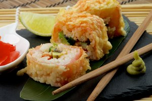 How to Fry Sushi