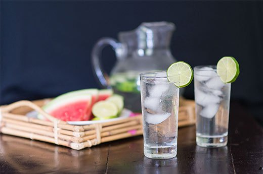 3. Watermelon-Cucumber-Lime Water