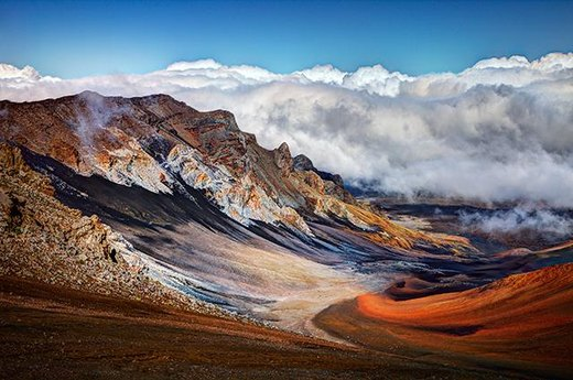 1. Best Park to Stare at a Volcano: Haleakala National Park, Hawaii