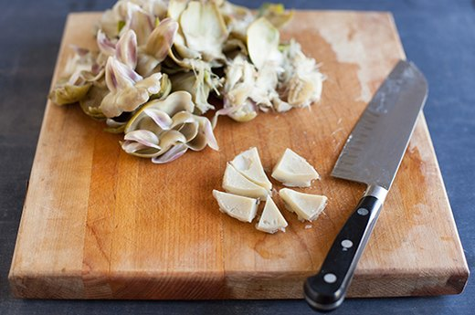 Artichokes, Part 2: Cook and Cut