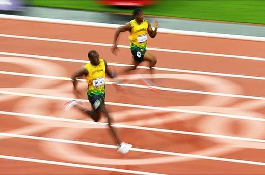 \#4. Usain Bolt, the Greatest Sprinter of All-Time
