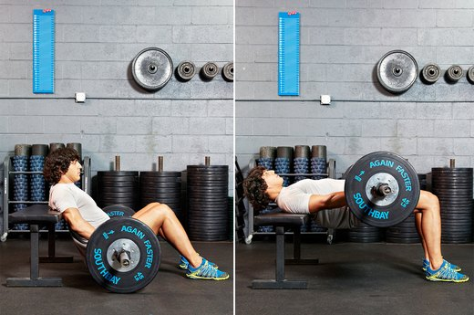 2. Barbell Hip Thrust
