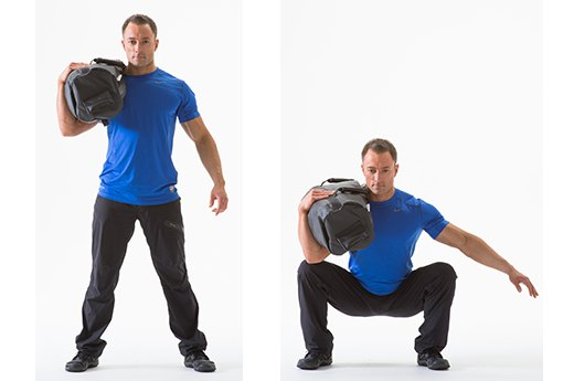 1. Shoulder Squat