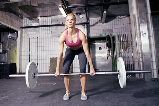 1. OLD MOVE: Squats - NEW MOVE: Full Deadlifts