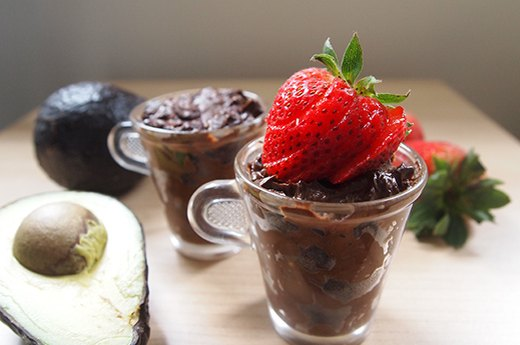 4. Avocado Chocolate Mousse