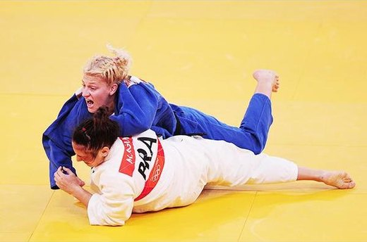 \#12. Kayla Harrison, America's First Judo Gold Medalist