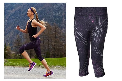 14. Sweaty Betty Adrenaline Galaxy Run Capris