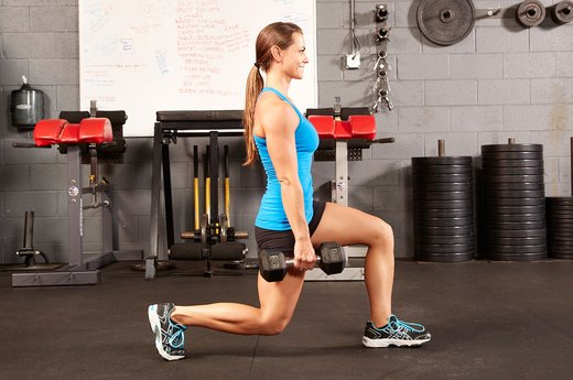 3. Lunges