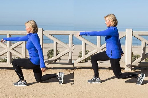 2b. Advanced Walking Lunges