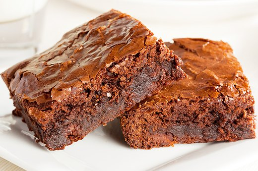 14. BROWNIE: Applesauce Instead of Butter