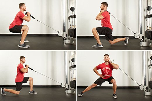Category 1: Lower-Body Exercises