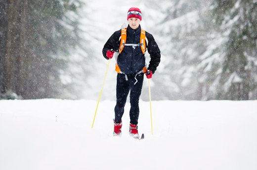 10. Cross-Country or Nordic Skiing