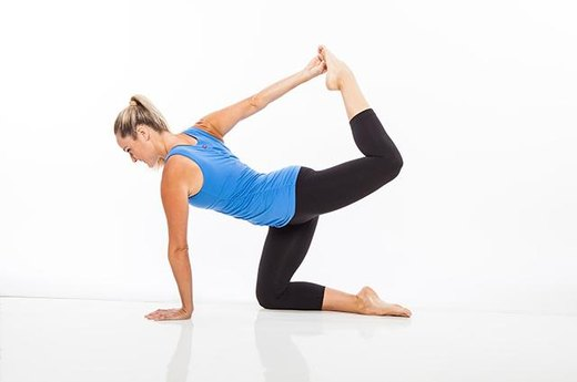 10. Balancing Quad Stretch