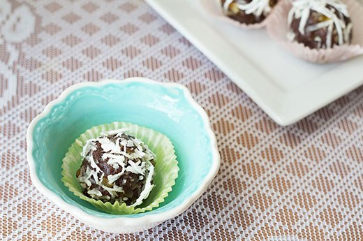 1. Tropical Chocolate Truffles