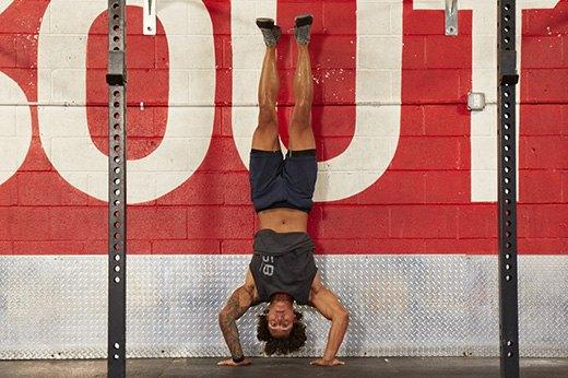 12. Handstand Push-Ups