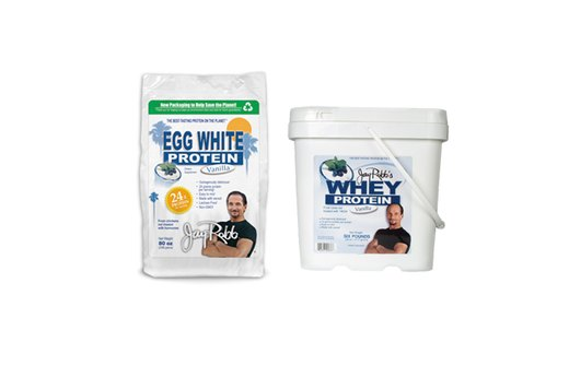 11. Egg White Protein: Jay Robb Egg White Protein Powder