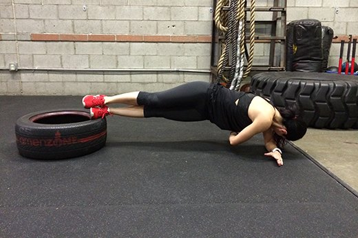 13. Side Plank With Twist