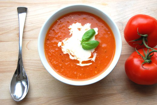 6. Homemade Tomato Soup