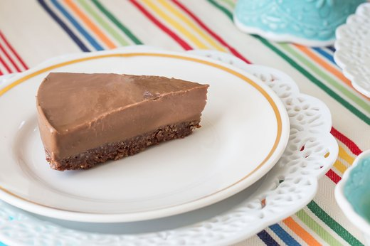 6. Raw Chocolate Avocado Tart