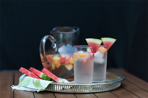 9. Melon-Infused Spa Water