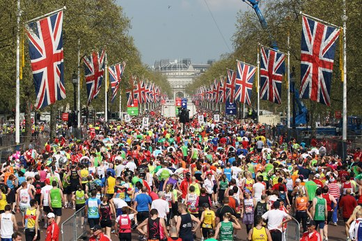 14. London Marathon (April)