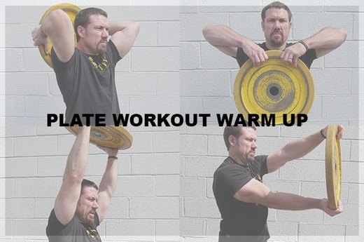 Plate Workout Warm-Up