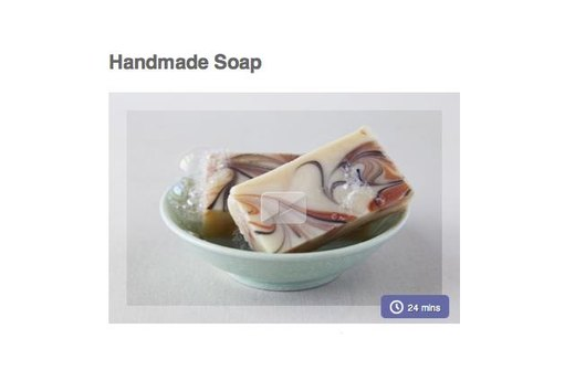 9. MAKE YOUR OWN SOAP AS GIFTS FOR FRIENDS